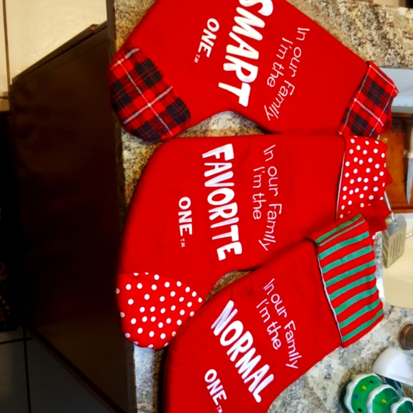 3 Christmas Stockings